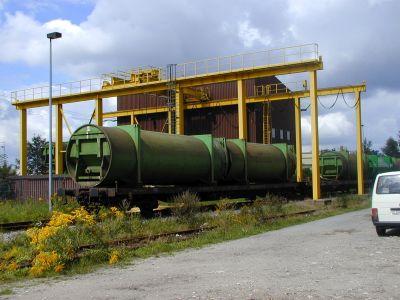 Müllumladestation Zweckkverband Müllverwertung Schwandorf ZMS