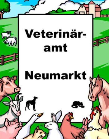 Plakat Veterinäramt Neumarkt