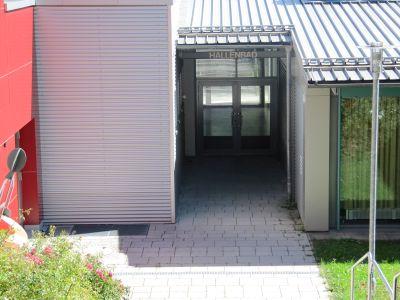 Hallenbad Parsberg Außenansicht