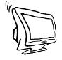 Skizze Monitor, Bildschirm