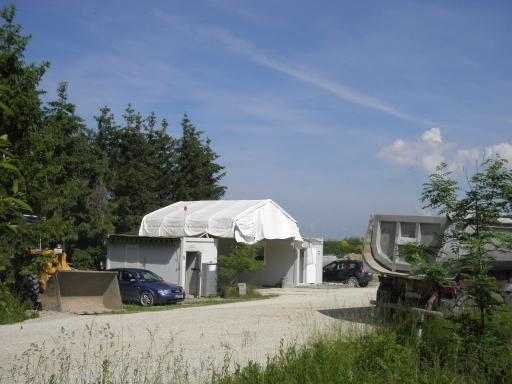 Erd- und Steindeponie Pollanten Eingangs- und Kontrollbereich