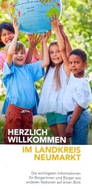 Coverbild Flyer für Neubürger
