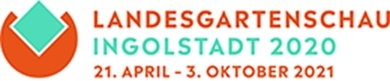 Logo Landesgartenschau Landshut 2020 21. April - 03. Oktober 2021
