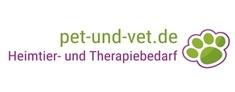 Logo pet und vet Heimtier- und Therapiebedarf