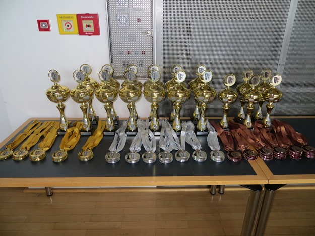 Impressionen Medaillen und Pokale